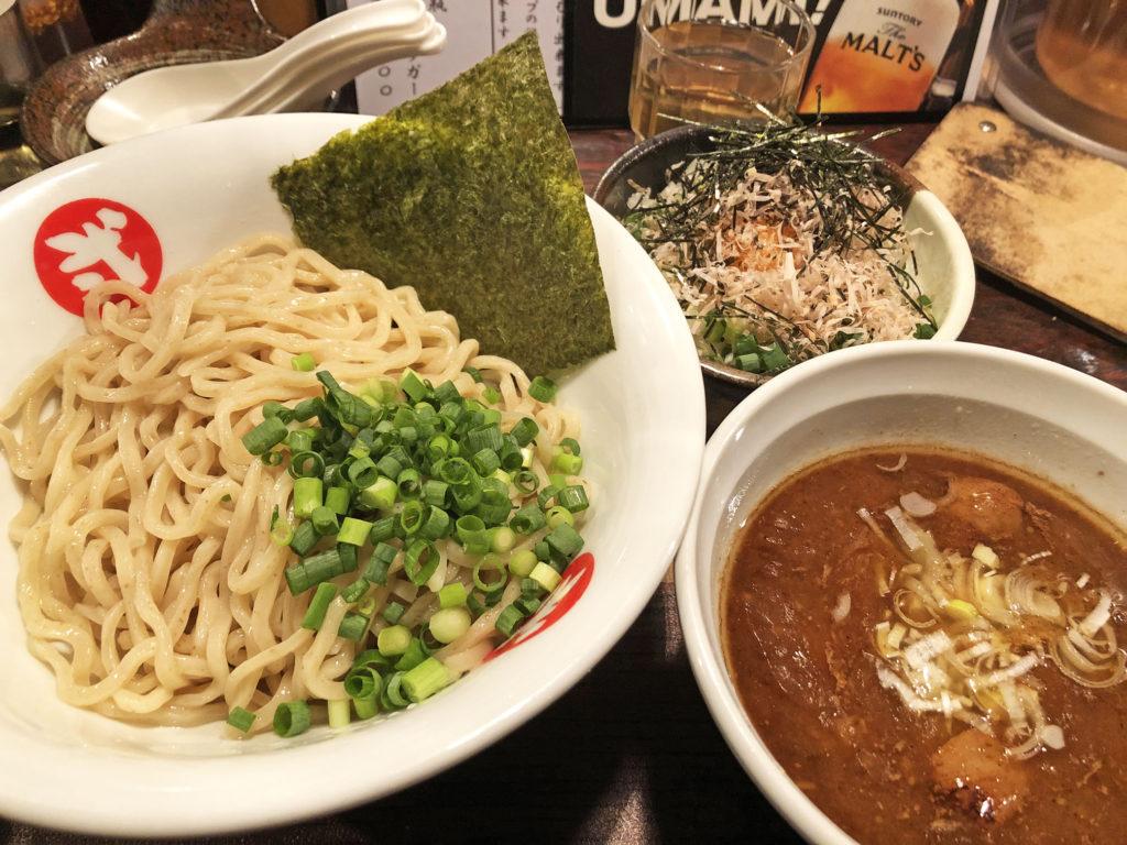 和浦酒場弐の和節つけ麺