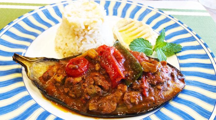 浦和のトルコ料理アセナ・ナスのオーブン焼き