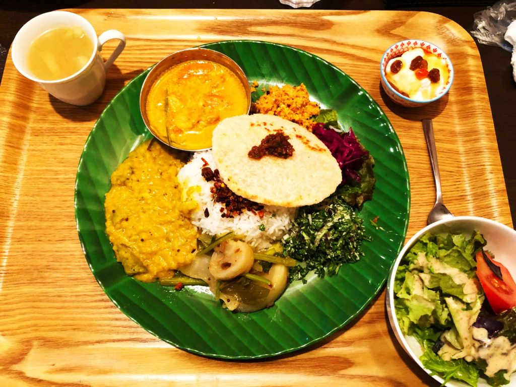 Cafe&Bar 胡蝶・スリランカカレー