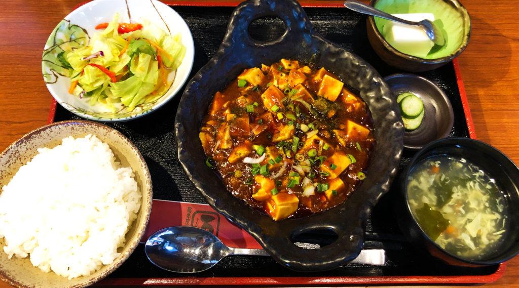 万(よろず)の麻婆豆腐