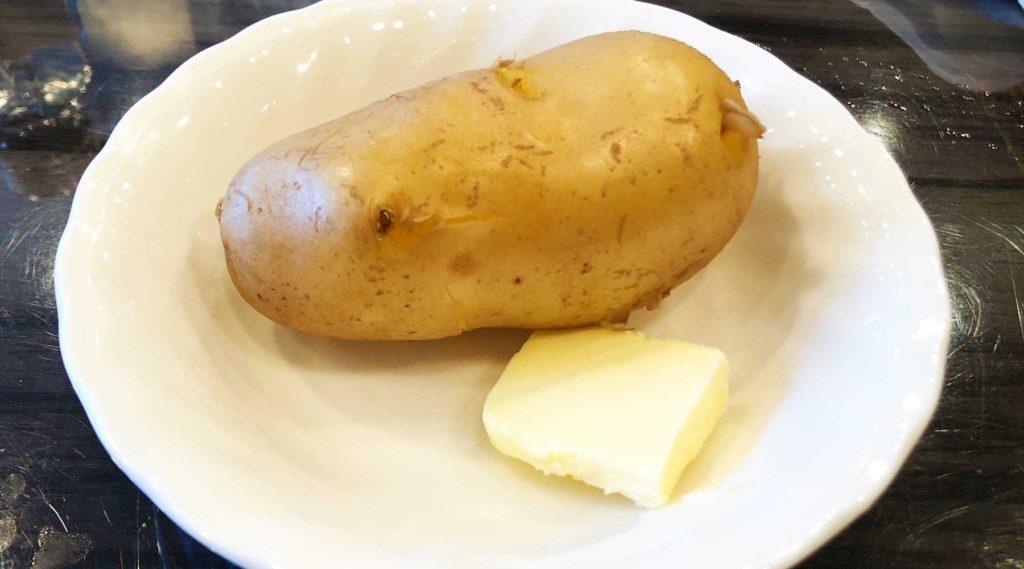浦和・千山のじゃがバター