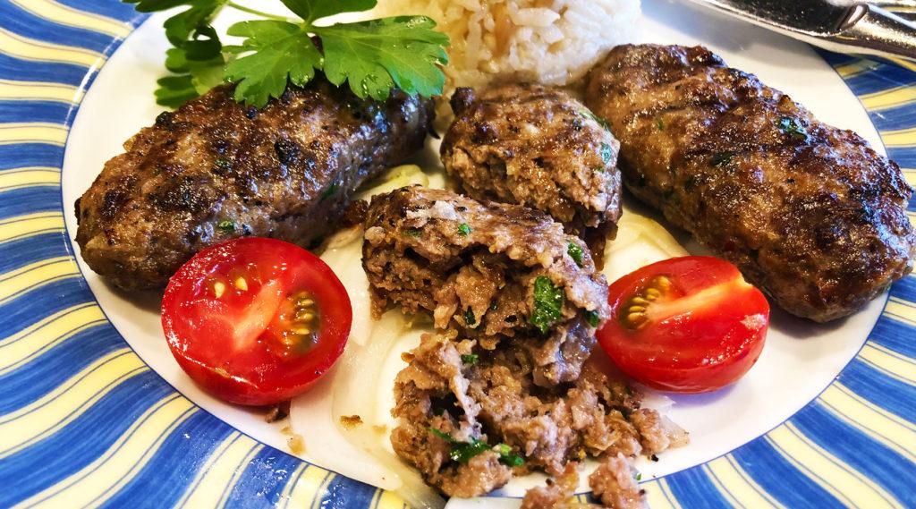 トルコ料理アセナのキョフテ