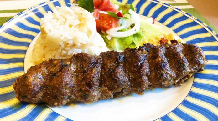 浦和のトルコ料理アセナのアダナケバブ