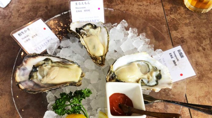 オイスターバーYUMMY浦和店の生牡蠣