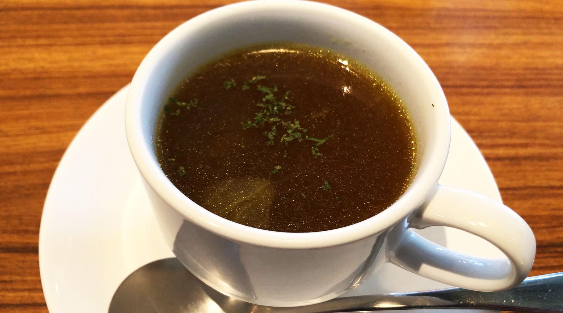 菜素美・ランチのスープ