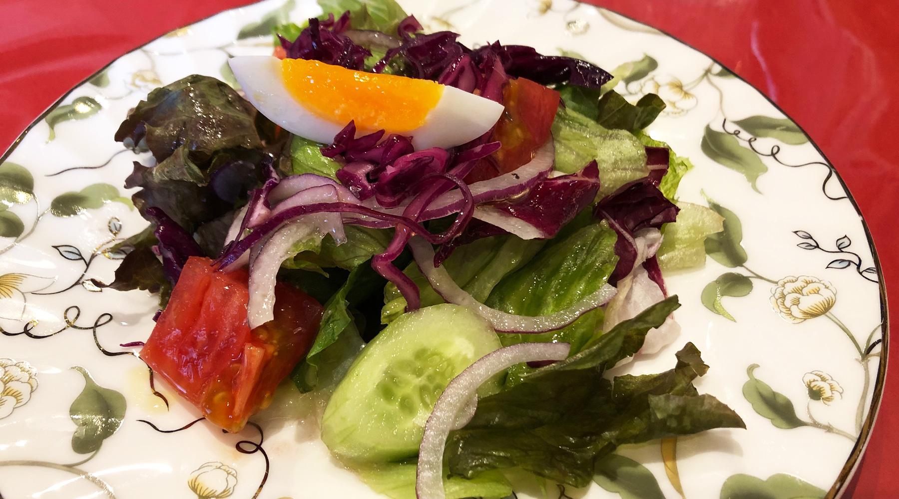 浦和のトルコ料理アセナのランチサラダ