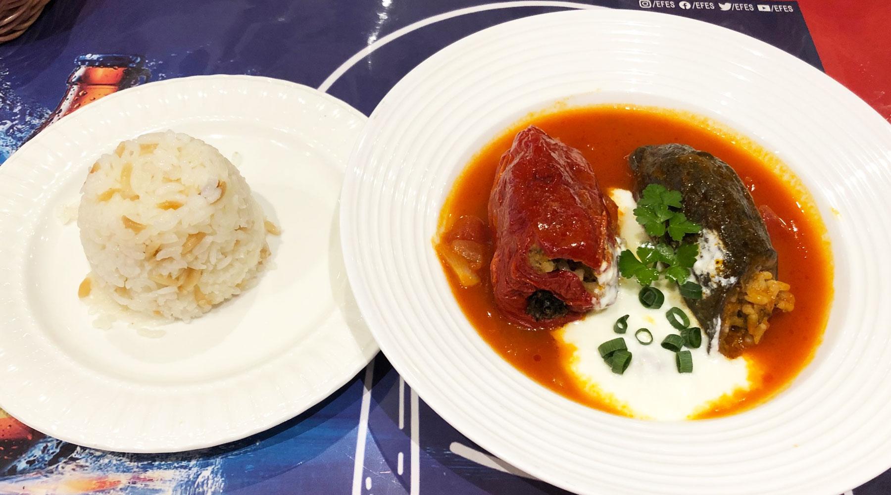 浦和のトルコ料理アセナ・ドルマとピラフ